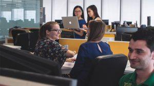 people in workplace 300x169 - 3 Kryptounternehmen, die gut für die Gesellschaft sind.